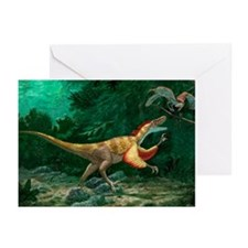 Feathered dinosaurs - Greeting Cards (Pk of 20)