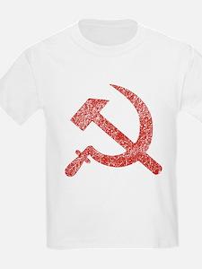 Hammer and Sickle Red Splatter T-Shirt
