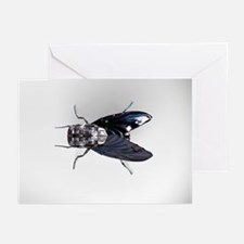 Robot fly - Greeting Cards (Pk of 20)