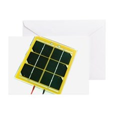 Solar cell - Greeting Cards (Pk of 20)