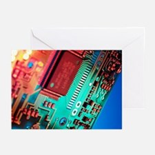 Silicon chip - Greeting Cards (Pk of 20)