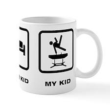 Gymnastic Pommel Horse Mug