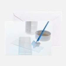 Cervical smear test equipment - Greeting Cards (Pk
