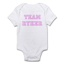 Pink team Ryker Infant Bodysuit
