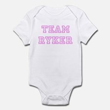 Pink team Ryker Infant Bodysuit