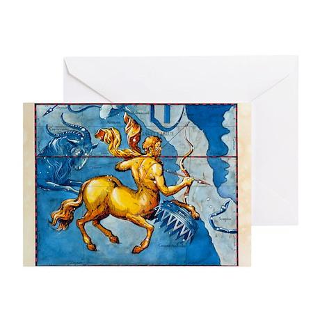 Historical art of the constellation of Sagittarius
