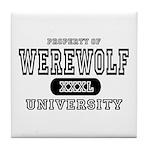 Werewolf University Property Tile Coaster