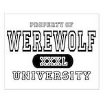 Werewolf University Property Small Poster