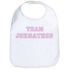 Pink team Johnathon Bib