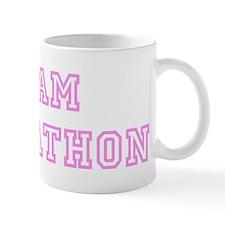 Pink team Johnathon Mug