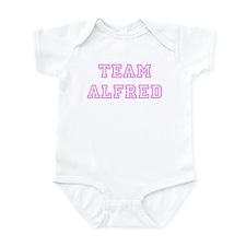 Pink team Alfred Infant Bodysuit