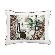 Gatsby In Paris II Rectangular Canvas Pillow