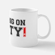 RUNNING ON EMPTY! Mug