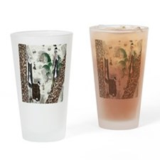 Gatsby In Paris II Drinking Glass