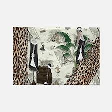 Gatsby In Paris II Rectangle Magnet