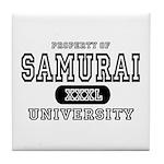 Samurai University Property Tile Coaster