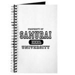 Samurai University Property Journal
