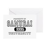 Samurai University Property Greeting Cards (Packag