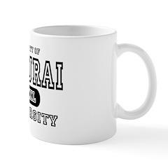 Samurai University Property Mug