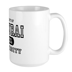 Samurai University Property Mug