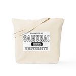 Samurai University Property Tote Bag