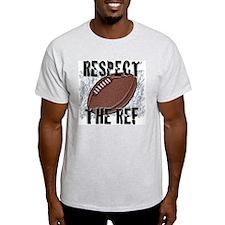 Respect the Football Ref Ash Grey T-Shirt