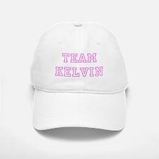 Pink team Kelvin Baseball Baseball Cap