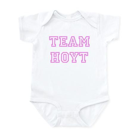 Pink team Hoyt Infant Bodysuit