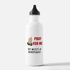 Wife In Menopause Water Bottle