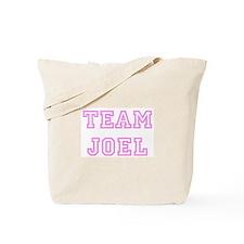Pink team Joel Tote Bag
