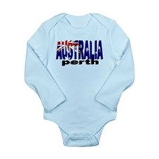 Australia Perth Long Sleeve Infant Bodysuit