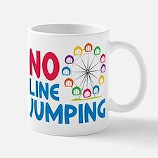 No Line Jumping Mug
