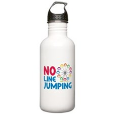 No Line Jumping Water Bottle