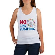 No Line Jumping Women's Tank Top