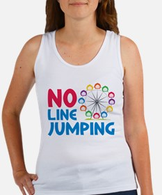 No Line Jumping Women's Tank Top