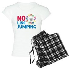 No Line Jumping Pajamas