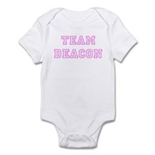 Pink team Deacon Infant Bodysuit