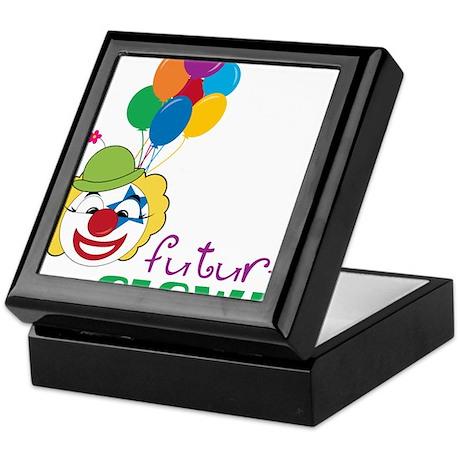 Future Clown Keepsake Box