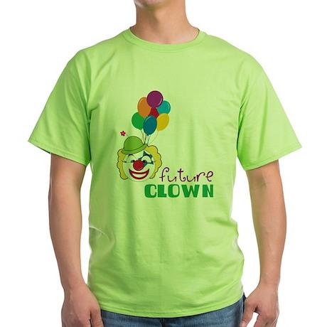 Future Clown Green T-Shirt