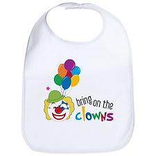 Bring On The Clowns Bib