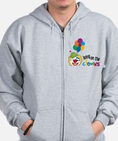 Bring On The Clowns Zip Hoodie