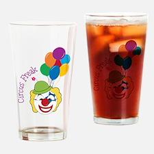 Circus Freak Drinking Glass
