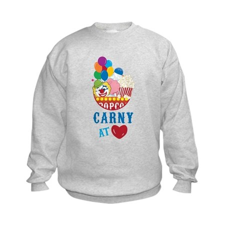 Carny At Heart Kids Sweatshirt
