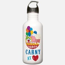 Carny At Heart Water Bottle