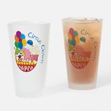 Circus Clown Drinking Glass
