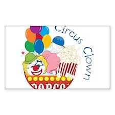 Circus Clown Decal