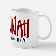 Savannah JUST A CAT Mug
