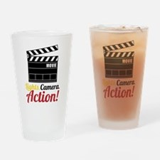 Action Drinking Glass