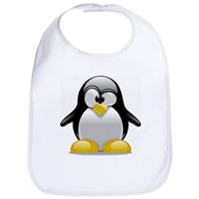 Tux the Penguin Bib