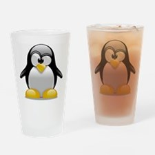 Tux the Penguin Drinking Glass